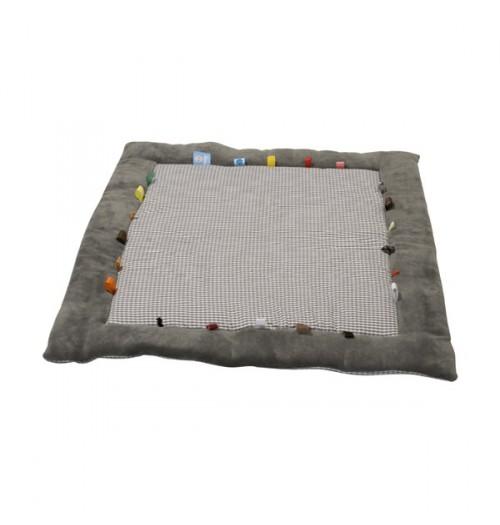 Snoozebaby igralna podloga siva