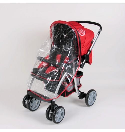 Pokrivalo za dež za otroški voziček Walk & Drive