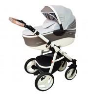 Otroški voziček CoTo Baby Quara 3v1 - eko zigzag