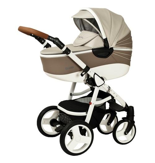 Otroški voziček CoTo Baby Quara 3v1 - eko kava