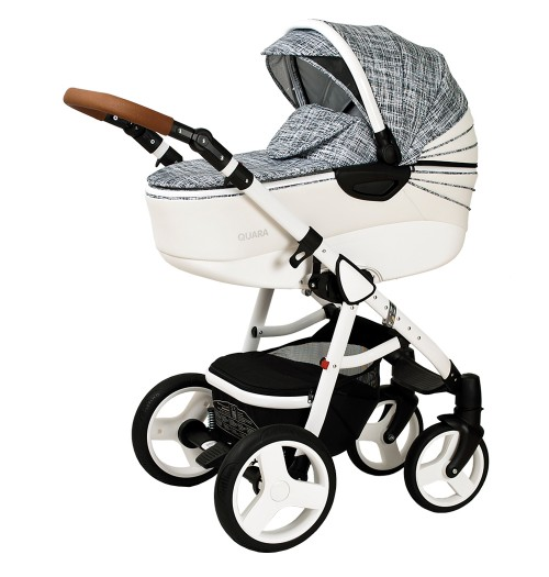 Otroški voziček CoTo Baby Quara 3v1 - eko tiskan