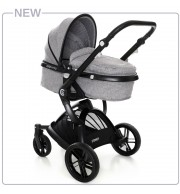 Otroški voziček CoTo Baby Sydney 2v1 grey