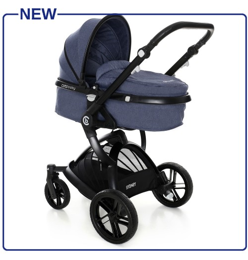 Otroški voziček CoTo Baby Sydney 2v1 jeans