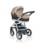 Otroški voziček CoTo Baby Aprilia 3v1 - len bež