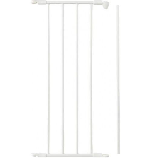 Varnostna ograja Baby Dan FLEX podaljšek 33cm bela