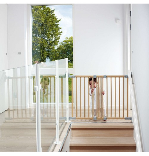 Varnostna vrata Baby Dan FlexiFit 69-106,5cm lesena