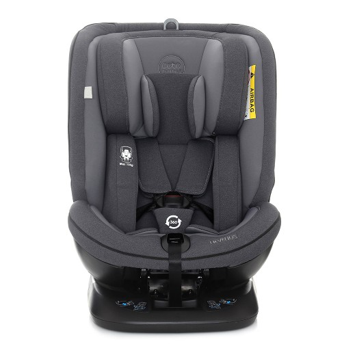 Avtosedež CoTo Baby Hevelius ISO FIX temno siv melange 0–36 kg