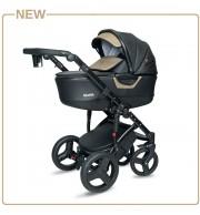Otroški voziček CoTo Baby Quara 3v1 - BLACK GOLD ECO