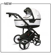 Otroški voziček CoTo Baby Quara 3v1 - WHITE ECO