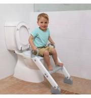 Nastavek za wc školjko s stopničkami Dreambaby siv