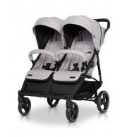 Otroški voziček za dvojčke EasyGO Domino Pearl