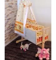 Posteljica za dojenčka Babywiege princ bela