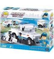 Policijski patruljni avto, Kocke za sestavljanje, COBI