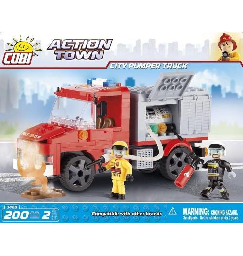 City Pumper Truck, Kocke za sestavljanje, COBI