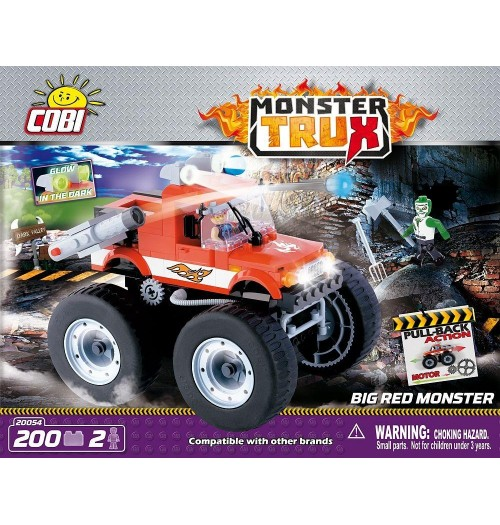 Big Red Monster, Kocke za sestavljanje, COBI