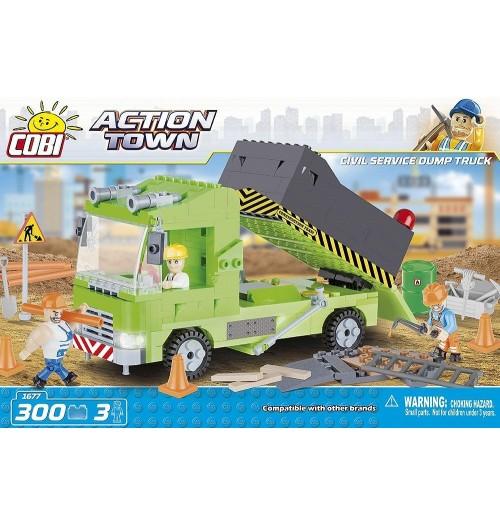 Civil Service Dump Truck, Kocke za sestavljanje, COBI