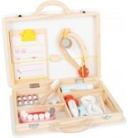 Zdravniški in zobozdravniški kovček 2v1 22 delni