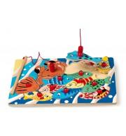 Ribolov (sestavljanka in igra za urjenje motoričnih spretnosti)