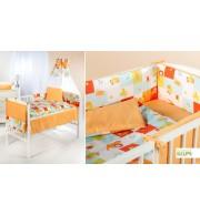 Posteljnina za otroško posteljico Klupś Jungle (6 delna)