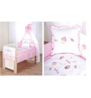Posteljnina za otroško posteljico Klupś Mali Dojenček (6 delna)