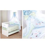 Posteljnina za otroško posteljico Klupś Mali Dojenček 3 (6 delna)