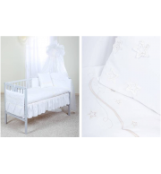 Posteljnina za otroško posteljico Klupś Zvezdice (6 delna)