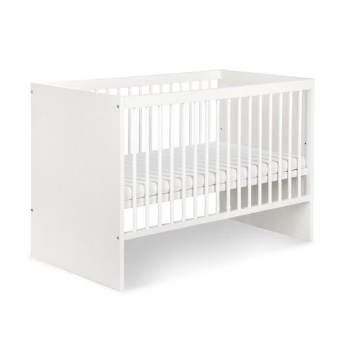 Posteljica za dojenčka Klupś DALIA bela (120 x 60 cm)