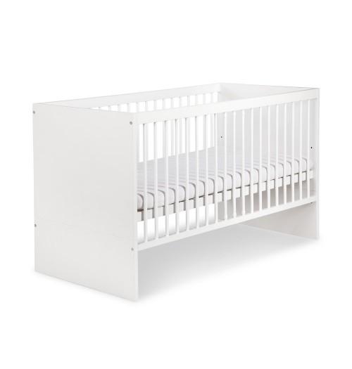 Posteljica za dojenčka Klupś DALIA bela (140 x 70 cm)