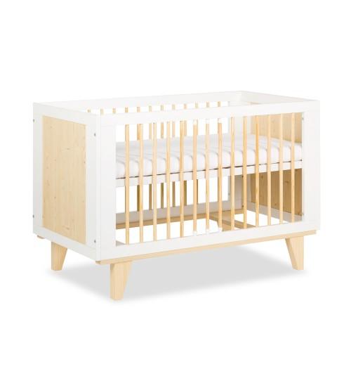 Posteljica za dojenčka Klupś LYDIA bela (120 x 60 cm)