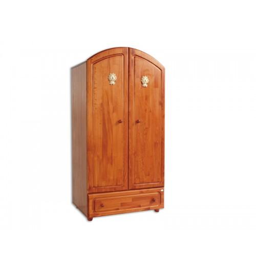 Garderobna omara Lion lesena