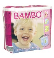 Otroške hlačke Bambo Eco Training XL plus (18 kg+)