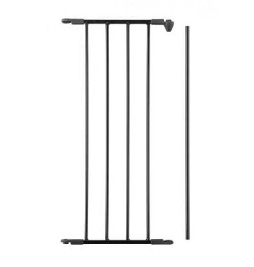 Varnostna ograja Baby Dan FLEX podaljšek 33cm črna