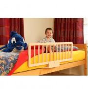 Zaščitno varovalo za posteljo Bambinoworld (naravne barve)