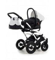 Otroški voziček Tako Laret Polka Dots 2v1
