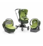 Otroški voziček Chicco Trio I-Move Green