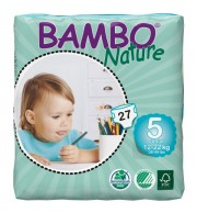 Otroške pleničke BAMBO NATURE JUNIOR 12-22 KG