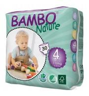 Otroške pleničke BAMBO NATURE MAXI 7-18 KG