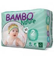 Otroške pleničke BAMBO NATURE MINI 2 3-6 KG