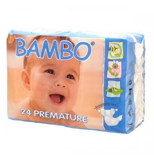 Otroške pleničke za nedonošenčke BAMBO PREMATURE 0 1-3 KG