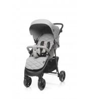 Otroški voziček 4Baby Rapid - lightgrey